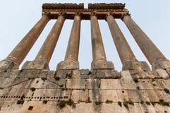 Temple of Jupiter,Baalbek Royalty Free Stock Photos