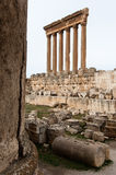 Temple of Jupiter, Baalbek Royalty Free Stock Image