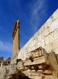 Temple of Jupiter at Baalbek, Lebanon Stock Photography