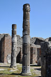 Temple of Jupiter, Pompeii Archaeological Site, nr Mount Vesuvius, Italy Royalty Free Stock Photos