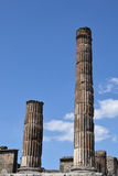 Temple of Jupiter, Pompeii Archaeological Site, nr Mount Vesuvius, Italy Royalty Free Stock Photography