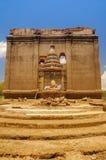 Temple in kanchanaburi Stock Photo
