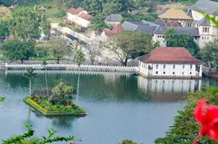 Temple, Kandy, Sri Lanka Royalty Free Stock Image