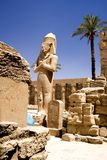 Temple of Karnak Royalty Free Stock Photography