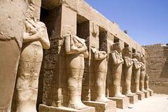 Temple of Karnak Stock Photo