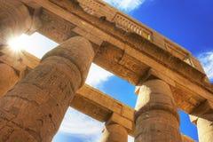 Temple of Karnak Stock Image
