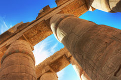 Temple of Karnak Royalty Free Stock Photo