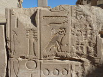 Temple of Karnak Royalty Free Stock Photos