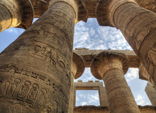 Temple of Karnak, Egypt Royalty Free Stock Photo