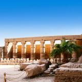 Temple of Karnak Egypt Stock Photography