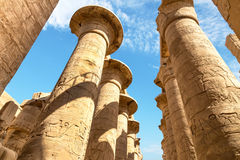Temple Karnak Stock Photography