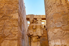 Temple of Karnak Egypt Stock Photo