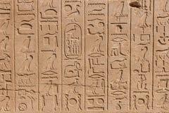 Temple of Karnak, Egypt Royalty Free Stock Photo