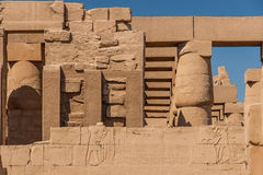 Temple of Karnak, Egypt Royalty Free Stock Photography