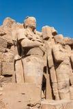 Temple of Karnak, Egypt Stock Images