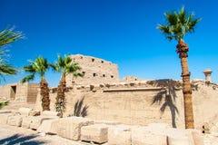 Temple of Karnak, Egypt Stock Photo