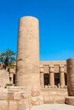 Temple of Karnak, Egypt Stock Image