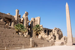 Temple of Karnak, Luxor, Egypt Royalty Free Stock Photos