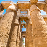 Temple of Karnak, Luxor, Egypt. Royalty Free Stock Photo