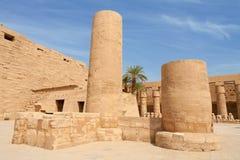Temple of Karnak.  Luxor, Egypt Stock Images