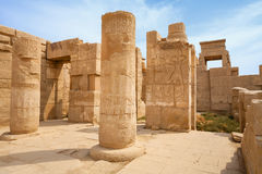 Temple of Karnak.  Luxor, Egypt Royalty Free Stock Photos