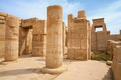 Temple of Karnak.  Luxor, Egypt Royalty Free Stock Photos
