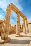 Temple of Karnak. Luxor, Egypt Royalty Free Stock Images
