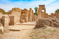 Temple of Karnak. Luxor, Egypt Royalty Free Stock Photo