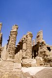 Temple of Karnak Ruins  Stock Photos