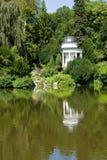 Temple in Kassel´s Bergpark Wilhelmshoehe Royalty Free Stock Images
