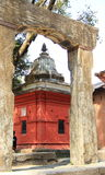 Temple in Kathmandu(Nepal). Royalty Free Stock Photo