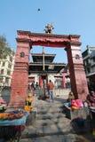Temple in kathmandu Stock Photography