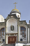 Temple of the Kazan icon of the Mother of God Royalty Free Stock Photos