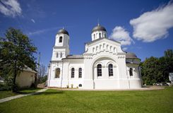 Temple of the Kazan icon of the mother of God village Lamishino Royalty Free Stock Image