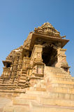 Temple in Khajuraho Stock Image