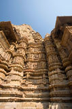 Temple in Khajuraho Royalty Free Stock Photography
