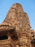 Temple in Khajuraho Stock Photos