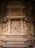 Temple in Khajuraho Royalty Free Stock Photo
