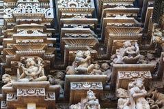 Temple in Khajuraho, India Royalty Free Stock Photo