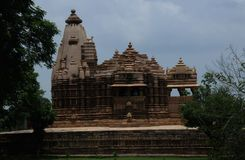Temple of Khajuraho, India Royalty Free Stock Image