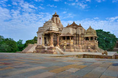 Temple in Khajuraho.  India Stock Photography