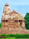 Temple in Khajuraho, India Royalty Free Stock Photos