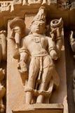 Temple in Khajuraho, India Royalty Free Stock Photography