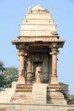 Temple of Khajuraho on India Stock Image