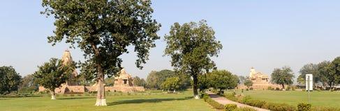 Temple of Khajuraho on India Royalty Free Stock Photography