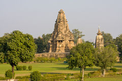 Temple in Khajuraho, India Stock Images