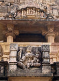Temple in Khajuraho. Madhya Pradesh Royalty Free Stock Photo