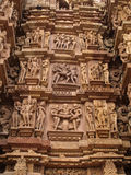 Temple in Khajuraho. Madhya Pradesh Stock Photography