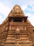 Temple in Khajuraho. Madhya Pradesh Stock Photos