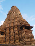 Temple in Khajuraho. Madhya Pradesh Stock Photo